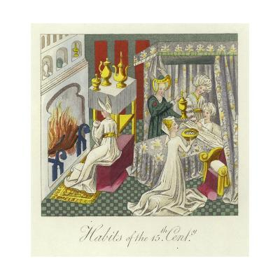 Habits of the 15th Century--Giclee Print
