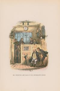 Illustration for Pickwick Papers by Hablot Knight Browne