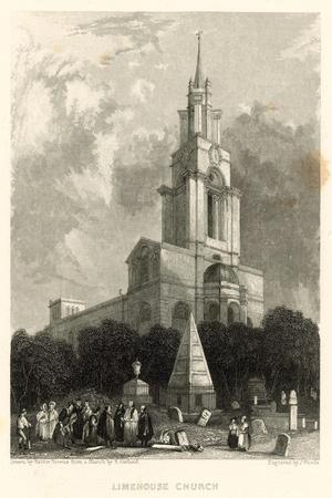 Limehouse Church; St Anne's Church, Limehouse, London