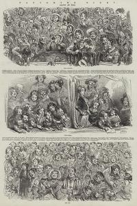 Pantomime Night by Hablot Knight Browne