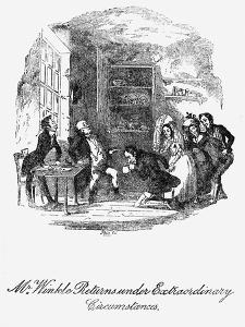 'The Pickwick papers' - by Hablot Knight Browne