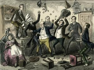 The Posthumous Papers of the Pickwick Club by Dickens by Hablot Knight Browne