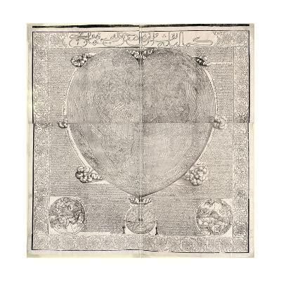 Haci Ahmed's World Map, 1560-Library of Congress-Giclee Print