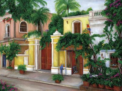 Hacienda Parrots-Betty Lou-Giclee Print