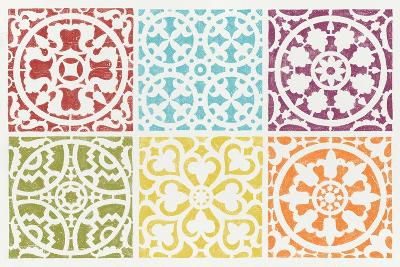 Hacienda Tile VII-Moira Hershey-Art Print