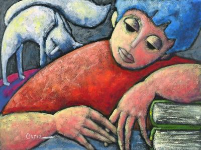 Haciendo Tareas En Mi Cuarto-Oscar Ortiz-Giclee Print
