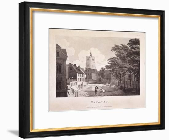 Hackney Brook, Hackney, London, 1791-William Ellis-Framed Premium Giclee Print