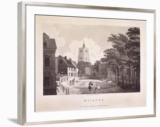 Hackney Brook, Hackney, London, 1791-William Ellis-Framed Giclee Print