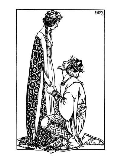 Hacon Grizzlebeard- Reginald & Knowles-Art Print
