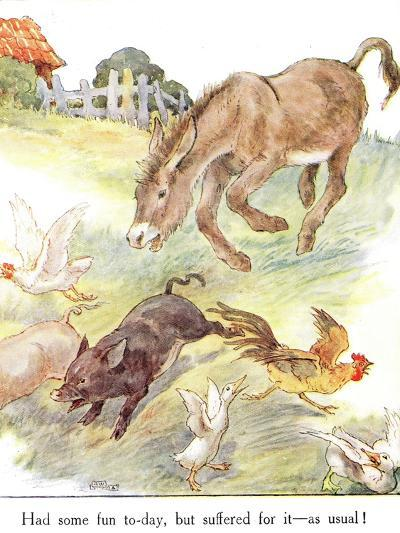 'Had Some Fun To-Day, But Suffered for it - as Usual!', Illustration from 'The Naughty Neddy…-Anne Anderson-Giclee Print