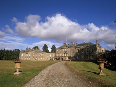 Haddo House, Elegant Country House, Georgian Exterior, Near Tarves, Aberdeenshire, Scotland, UK-Patrick Dieudonne-Photographic Print