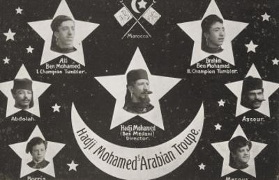 Hadji Mohamed's Arabian troupe
