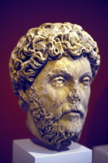 Hadrian (76-13), Roman Marble Bust--Photographic Print