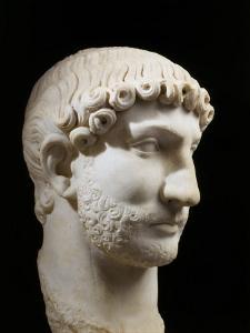 Hadrian, 76-138 AD Roman Emperor, marble, 117-38 AD