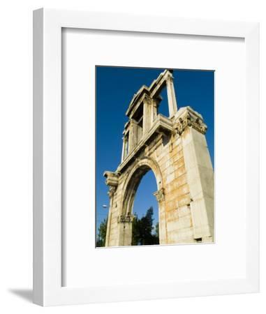Hadrian's Arch in Athens, Greece-Richard Nowitz-Framed Photographic Print