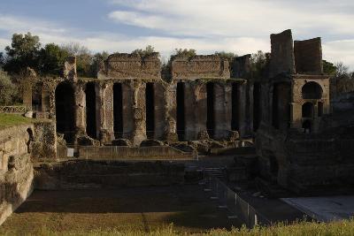 Hadrian's Villa, 2nd Century, Praetorium, Italy--Photographic Print