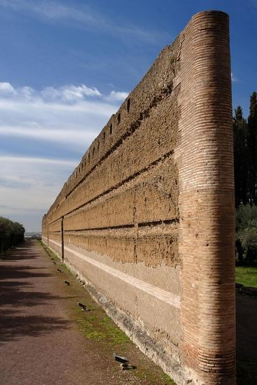Hadrian's Villa, Pecile, Italy--Giclee Print