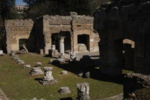 Hadrian's Villa, the Greek and Latin Libraries, 2nd Century, Italy