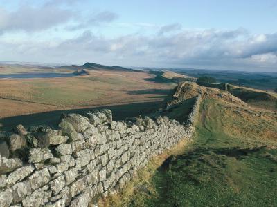 Hadrian's Wall, Unesco World Heritage Site, Northumbria, England, U.K.-Adam Woolfitt-Photographic Print
