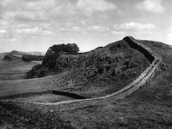 Hadrian's Wall-J. Chettlburgh-Photographic Print