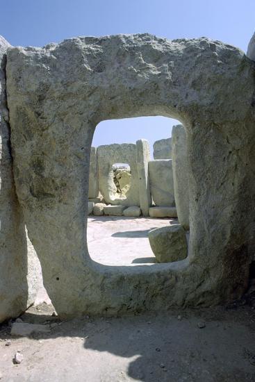 Hagar Qim Temple on Malta, 3rd Century Bc-CM Dixon-Photographic Print