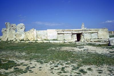 Hagar Qim Temple on Malta. (C.3000 BC)-CM Dixon-Photographic Print