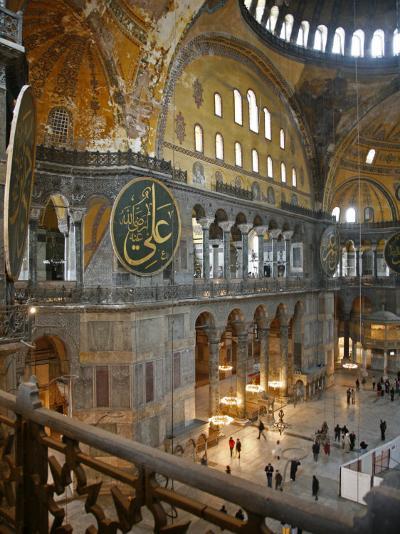 Haghia Sophia, UNESCO World Heritage Site, Istanbul, Turkey, Europe-Levy Yadid-Photographic Print