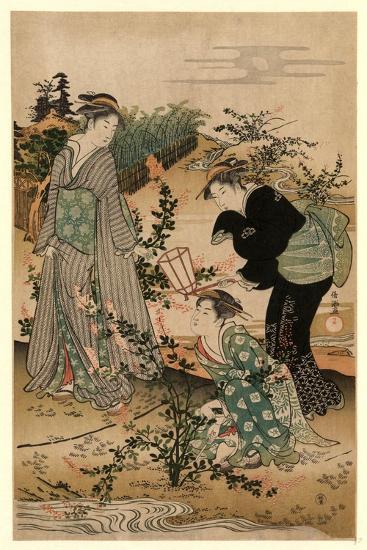 Hagi No Tamagawa-Kubo Shunman-Giclee Print