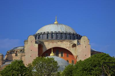 Hagia Sophia (Aya Sofya Mosque) (The Church of Holy Wisdom)-Neil Farrin-Photographic Print