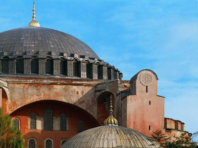 Hagia Sophia, Exterior, Detail of Dome, 6th Century--Giclee Print