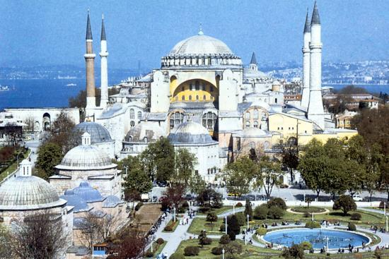 Hagia Sophia, Istanbul (Constantinople), Turkey, 1980s. Artist: Unknown-Unknown-Photographic Print