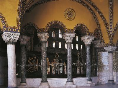 Hagia Sophia Tribune Gallery, Historic Areas of Istanbul--Photographic Print
