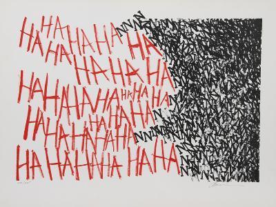 Hahaha-Marshall Borris-Collectable Print