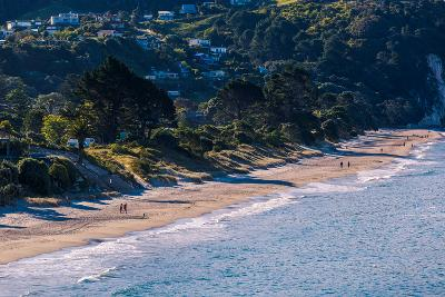 Hahei Beach on the Eastern Side of the Coromandel Peninsula Bathed in Late Afternoon Light, Waikato-Garry Ridsdale-Photographic Print