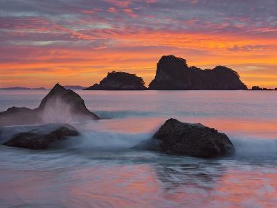 Hahei, Coromadel Peninsula, Waikato, North Island, New Zealand-Rainer Mirau-Photographic Print