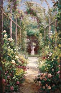 Garden Entrance by Haibin