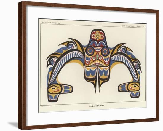 Haida Dog-Fish--Framed Giclee Print
