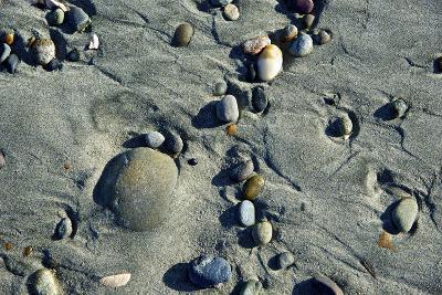 Haida Gwaii Islands, British Columbia. Beach Stones-Richard Wright-Photographic Print