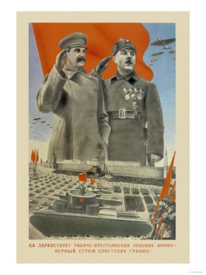 Hail Moscow--Art Print