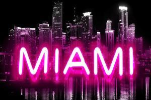 Neon Miami PB by Hailey Carr