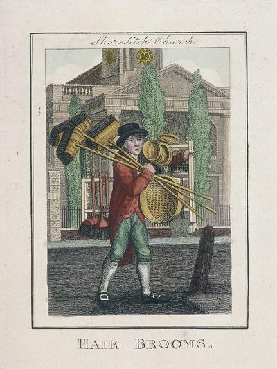 Hair Brooms, Cries of London, 1804-William Marshall Craig-Giclee Print