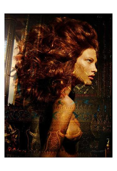 Hair Temple Sparkles-Daniel Stanford-Art Print