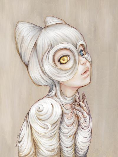 Hairball-Camilla D'Errico-Art Print