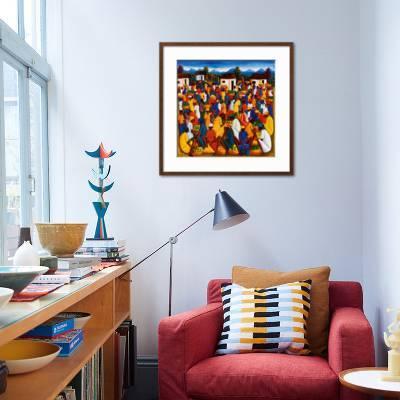 Haitian Art Art Print Andre Pierre Art Com