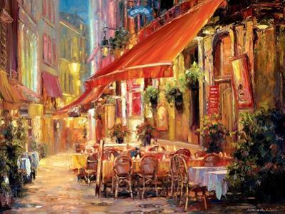 Café in Light by Haixia Liu