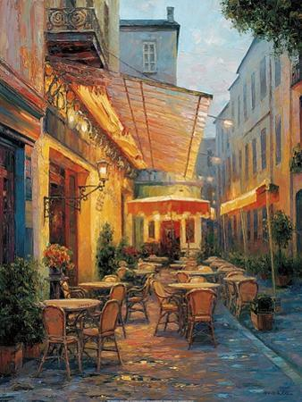 Café Van Gogh 2008, Arles France by Haixia Liu