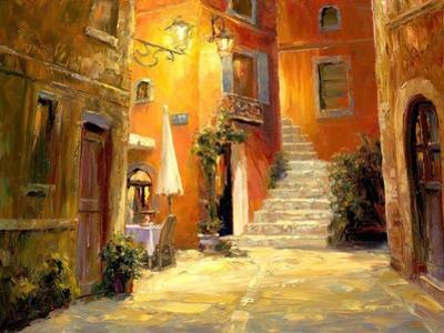 Lighted Alley by Haixia Liu
