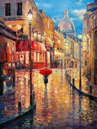 Montmartre Evening by Haixia Liu