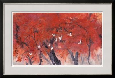 Dancing in Maple Wood by Haizann Chen