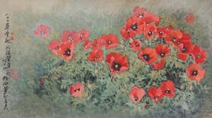 Poppy Flowers by Haizann Chen